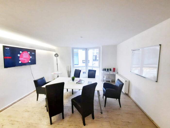 Workingbox: Redbox - Meetingraum in Düsseldorf